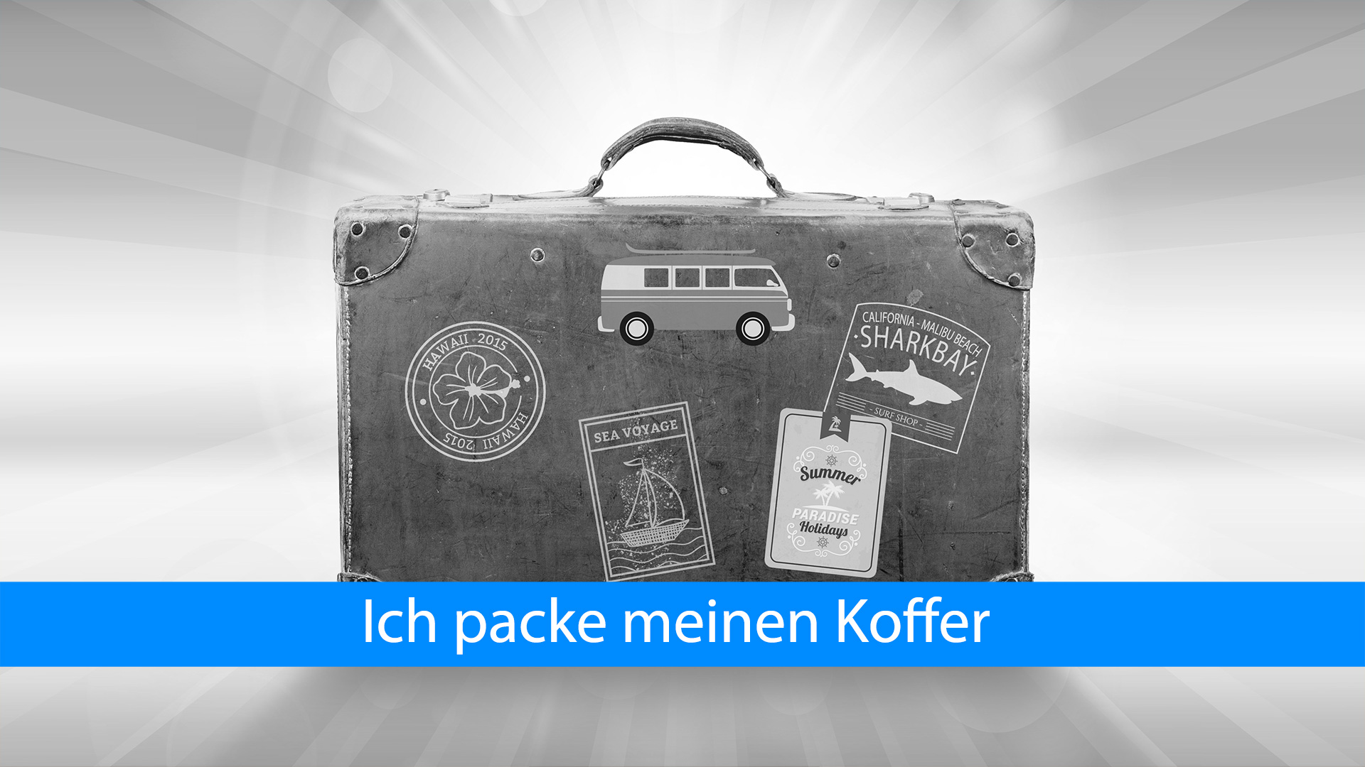 Koffer packen für Dummies