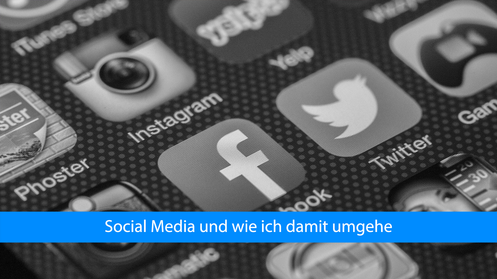 Mein Blog und die sozialen Medien – Wie geht das?