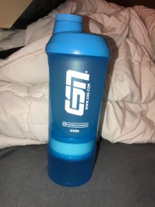ESN Tower Shaker Blue Transparent