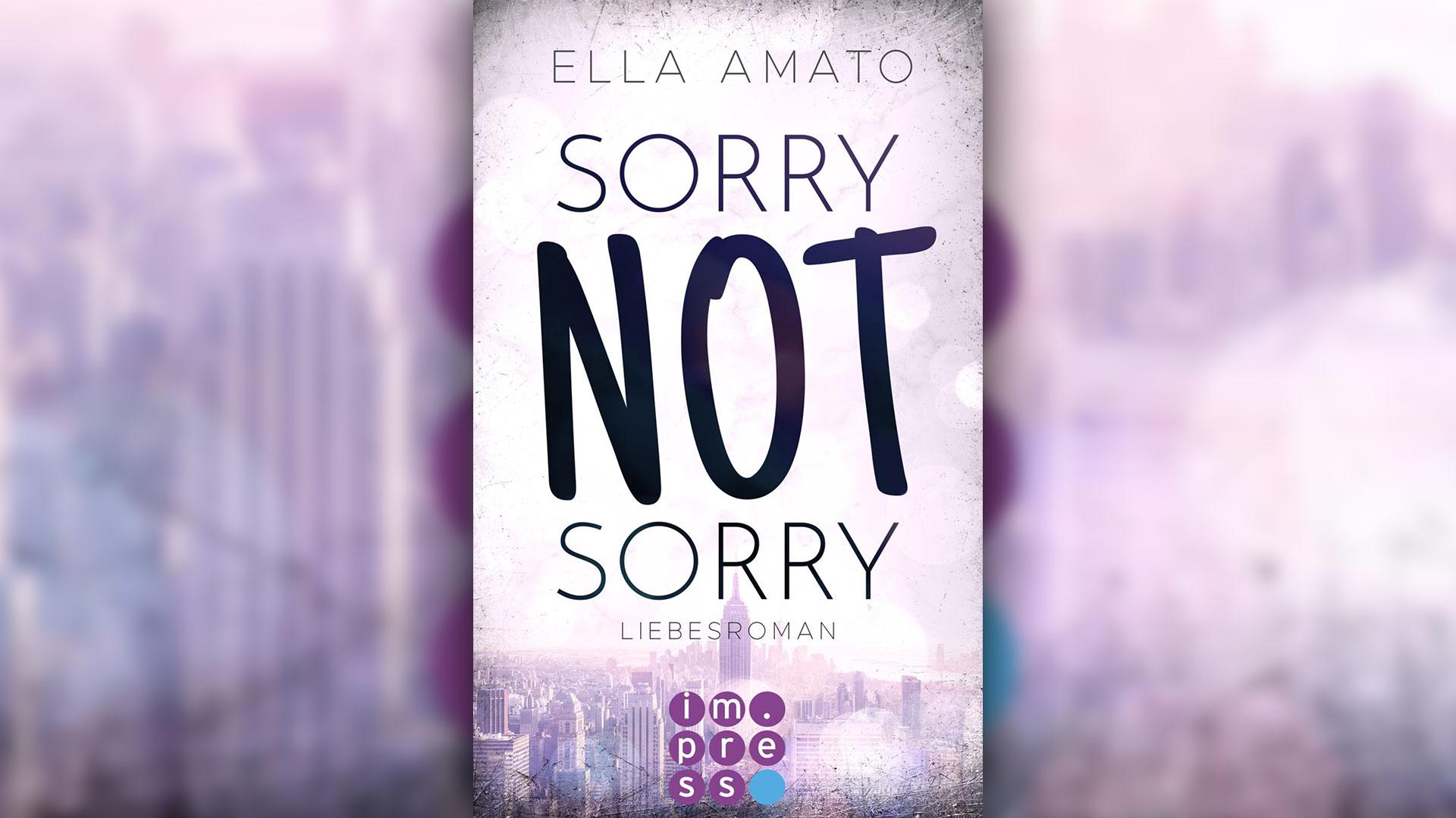 Sorry not sorry (Bildrechte: Carlsen Verlag)