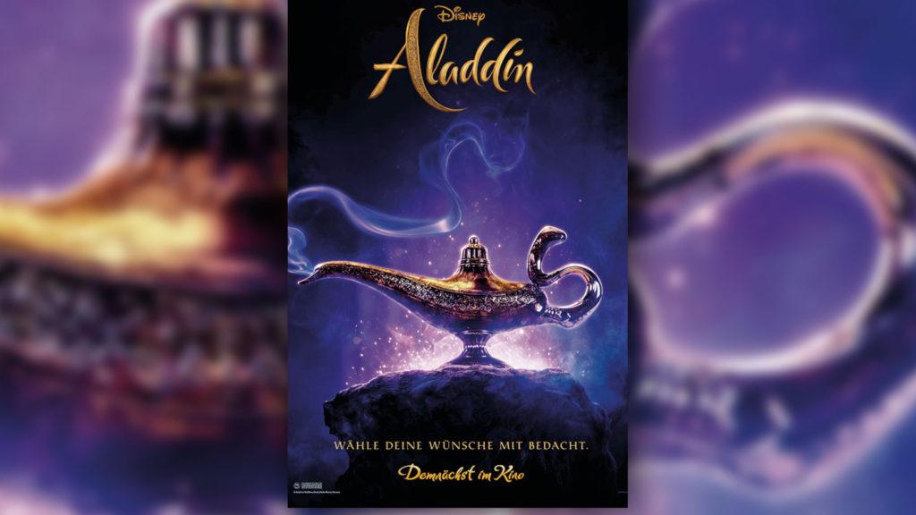 Aladdin Plakat (Rechte: Verleih)