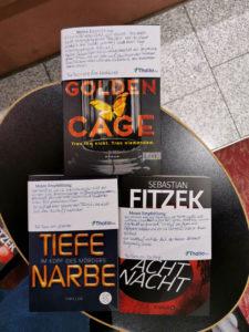 Golden Cage, Tiefe Narben und AchtNacht mit Empfehlung