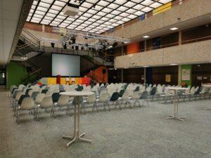 Aula des Johanneums in Homburg