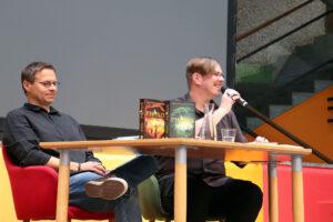 Michael Peinkofer und Markus Heitz bei der Hombuch